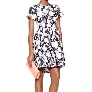 NWT Kate Spade Graphic Floral Lace Dress Size 6